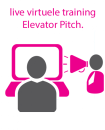 Live virtuele training Elevator Pitch