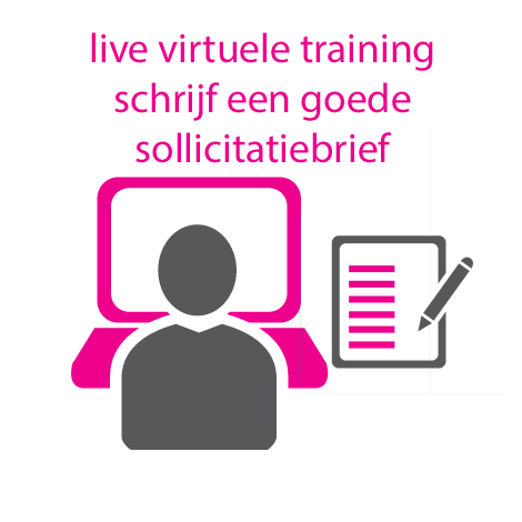 Live virtuele training sollicitatiebrief schrijven
