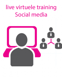 Live virtuele training social media