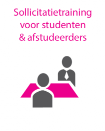 sollicitatietraining voor studenten